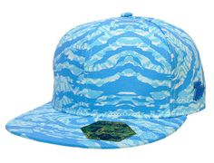 Ethnic Tiger Fitted Baseball Cap by 7UNION