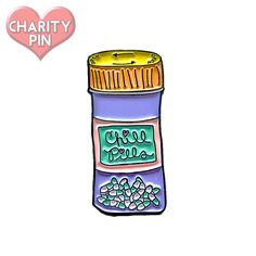 Chill Pills Enamel Pin — Doozie Bella