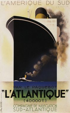 A.M. Cassandre poster.