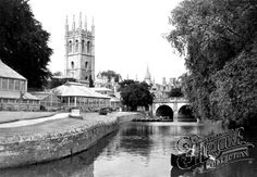 Photo of Oxford, Magdalen College and River Cherwell 1947 - Francis Frith