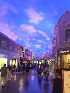 Ceasar palace shopping