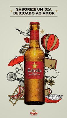 Posters / Estrella Damm poster — Designspiration
