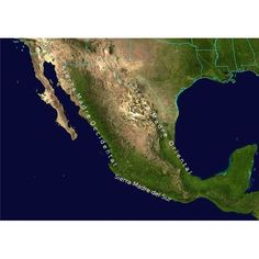 Mexico and Central America are home to many diverse landforms.