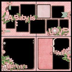 Match Made In Heaven - Boy QuickPages (TT) :: Gotta Pixel Digital Scrapbook Store Baby Girl Scrapbook, Baby Scrapbook Pages, Kids Scrapbook, Travel Scrapbook, Paper Bag Scrapbook, Scrapbook Cards, Scrapbook Layout Sketches, Scrapbooking Layouts, 6 Photos