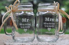 Mason Jars are useful and a great favor.  You can customize them, decorate them and stuff them with whatever you want.  Leave them empty and put a tag on them as a dual purpose party favor and seating card.  Guests can also use them to get drinks from the bar all night.  You can also stuff them with cake mix, hot cocoa or anything else you can imagine.  Put a top on the jar and now they have something they can really take home and enjoy.