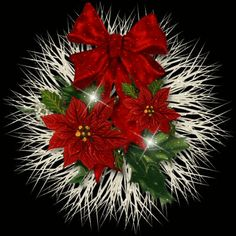 Glitter Graphics: the community for graphics enthusiasts! Animated Christmas Tree, Merry Christmas Gif, Christmas Graphics, Merry Christmas And Happy New Year, Christmas Pictures, All Things Christmas, Vintage Christmas, Christmas Holidays, Christmas Wreaths