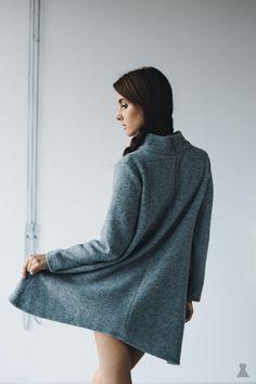 wide wool turtle sweater