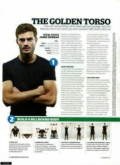 Jamie Dornan for Men's Health & Fitness Magazine 2009