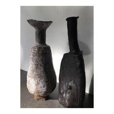 Handmade #vases#clay #ceramics #ceramic #handbuilt #tableware