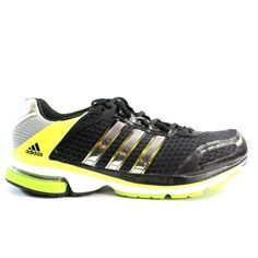 Adidas Men's Supernova Glide 4 Running Training Shoes Black/Silver/Neon on Sale