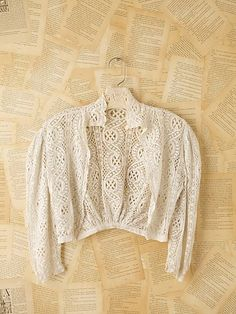 #Vintage #Victorian #lace top from freepeople