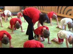 gymnastika Yoga Games, Sudoku, Gross Motor Skills, Yoga For Kids, Activity Games, Zumba, Gymnastics, Children, Youtube
