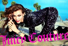 Juicy Couture Fall 2012 Ad - Karlie Kloss