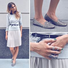 the shoes and the rings