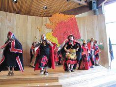 Alaska Native dancing   Alaska Native Heritage Center