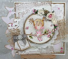 Corner of the map Gretha - Gorgeous card, lovin all the details.....
