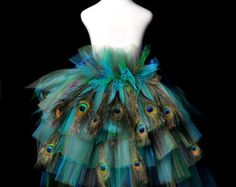 Peacock Costumes for Girls | Tutu...Hallo ween Peacock Costume, Pageant, Dance Recital...Girls ...