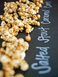The entertaining experts as HGTV.com share a recipe for caramel popcorn that uses stout and is perfect for your next St. Patrick's Day celebration.