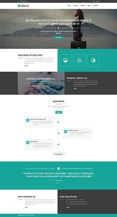 36 best website design template and ideas images design websites rh pinterest com