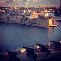 Upper Barrakka in Valletta