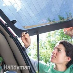 Fix a broken rear window defogger in less than 30 minutes with an inexpensive repair kit.