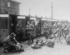 The History Place - World War I Timeline - 1914 - French Mobilization