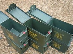 Steel Ammo Cans | Pinterest | Aid kit Military surplus and Geocaching & M2A1 50 Cal. Steel Ammo Cans | Pinterest | Aid kit Military surplus ...