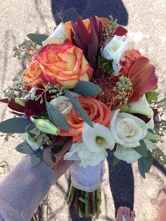 Beautiful fall wedding bouquet!
