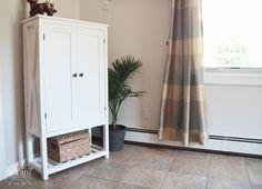 DIY Wooden Storage Cabinet
