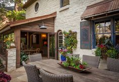 traditional patio by Key Residential
