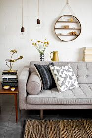 Down and Out Chic: Interiors: Not Quite Neutral