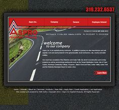 Specialty website for Aspro by VGM Forbin.