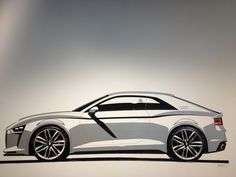 Audi Tape Drawing