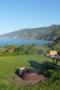 Kirk Creek Campground, an oceanside paradise