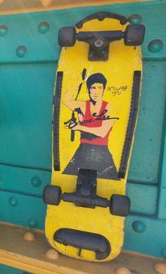 """Skateboard.  Hell""""s Kitchen Flea Market."""