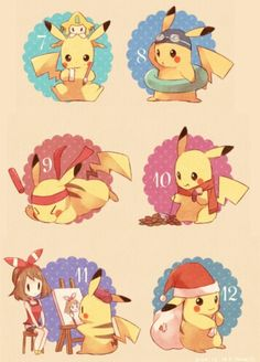 A day in the life of Pikachu. :P Days 7-12