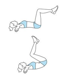 Move 6: Reverse Crunch   Tone and strengthen your abdominal muscles with8 quick exercises.