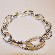 Armband massief zilver. van Atelier925 op DaWanda.com