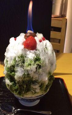 Christmas shaved ice クリスマス氷