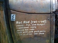 ratrod quotes - Google Search