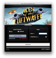 Aces of the Luftwaffe Premium Android IOS Hacked Cheats Tool Aces of the Luftwaffe is action video game developed and published by HandyGames.