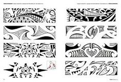 Image result for polynesian tattoo band