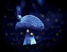 """Magical Home via Pendulum """""""" Mushroom Art, Mushroom House, Fantastic Voyage, Magical Home, Masquerade Costumes, Cryptozoology, Believe In Magic, Angels And Demons, Gnome Garden"""