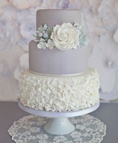 Wedding Cake by Sugar Ruffles