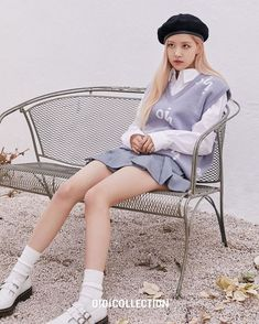 Auckland, South Korean Girls, Korean Girl Groups, Rose Park, Blackpink Fashion, Ulzzang Fashion, Fashion Outfits, Park Chaeyoung, Foto Pose