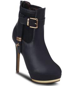 Get Glamr Navy Stiletto Boots, http://www.snapdeal.com/product/get-glamr-navy-stiletto-boots/93875339