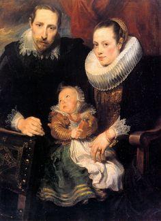 Sir Anthony van Dyck (Антонис ван Дейк, Flemish painter, 1599–1641) \2\. Обсуждение на LiveInternet - Российский Сервис Онлайн-Дневников Дейк, Антонис ван. Семейный портрет. Между 1618 и 1621 Государственный Эрмитаж, Санкт-Петербург.