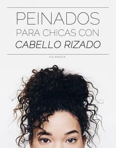 Hairstyles that will look in your curly hair Curled Hairstyles, Pretty Hairstyles, Hairstyles Videos, Short Hairstyles, Cabello Hair, Natural Hair Styles, Long Hair Styles, Hair Repair, Curly Girl