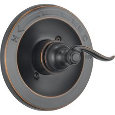 Delta Bt14096-Ob Foundations Monitor Valve Only Trim (Delta BT14096-OB Foundations Monitor Valve Only), Bronze