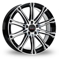 Picture of 17 Inch CW CW1 Black Alloy Wheels